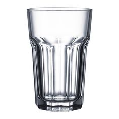 POKAL Glass IKEA Also suitable for hot drinks. Made of tempered glass, which makes the glass durable and extra resistant to impact.