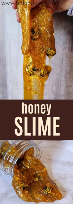 DIY Honey Slime Recipe