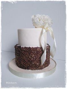 Simple birthday cake - cake by Blacksun