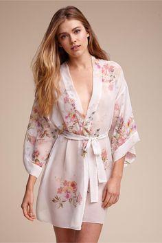 f468c2c7ba Silk satin dressing kimono robe (pink or white or lavender)