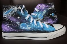 Converse All Star Galaxy Sneaker Galaxy customize canvas shoes