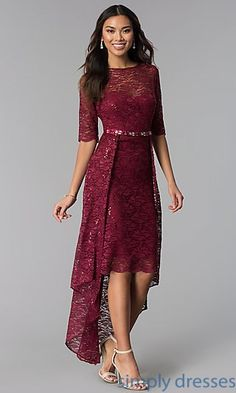 Shop Simply Dresses for long formal dresses like Short formal dresses, prom dresses, cocktail party dresses, evening gowns, casual and career dresses. Lace Party Dresses, Plus Size Prom Dresses, Sexy Dresses, Short Dresses, Dresses With Sleeves, Formal Dresses, Formal Prom, Dress Brokat, Lace Dress Styles