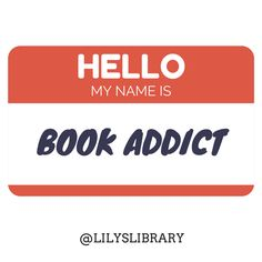 @lilyslibrary #bookaddict #hello