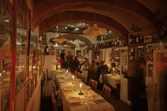 Ristorante La Giostra Firenze - Borgo Pinti 12/r - Firenze- My favorite restaurant in the whole world. Amazing food and ambiance and all the recipes of the Hapsburg family? Yes, please!