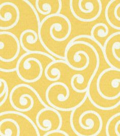 Outdoor Fabric-Better Homes & Garden Ornament Daffodil. chairs in the living room