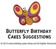 Butterfly Birthday Cakes Suggestions - Birthday Party Ideas