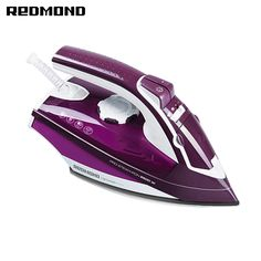 Iron REDMOND steam generator for ironing irons steam Household for Clothes Selfcleaning Burst of Steam zipper Laundry Appliances, Home Appliances, Steam Generator, Steam Iron, Household, Purple, Irons, Cleaning Supplies, Gadgets