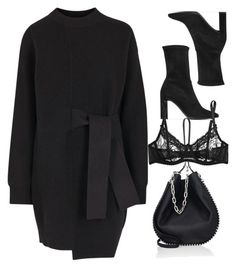 """""""Untitled #10984"""" by katgorostiza ❤ liked on Polyvore featuring Proenza Schouler, Stuart Weitzman, Alexander Wang and Mimi Holliday by Damaris"""