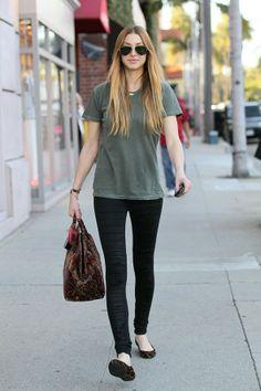 Whitney Port Style | Whitney Port on the street in LA - celebrity fashion (Glamour.com UK)