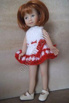 Free tutorial Heartstring doll doll: spring dress