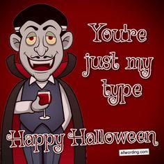 You're just my type. #vampirepuns