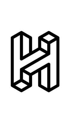 Awesomeness Graphic Design . Brand Logo . H Letter . Joshua Hathaway