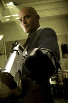 Timothy Olyphant from Hitman