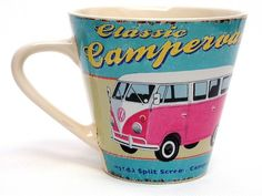 COFFEE BREAK LARGE MUG 250ml CAMPER VAN