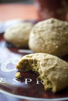 Pumpkin Spice Cookies - Soft, succulent and subtly spicy