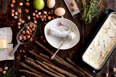 Food: 'Black Salsify Tart with Fresh Goat Cheese' / 'Schwarzwurzel-Tarte mit Ziegenfrischkäse' -  Get the recipe on moodforstyle.de now.