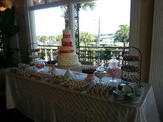 Wedding desert table Wedding Desert Table, Deserts, Table Decorations, Home Decor, Decoration Home, Room Decor, Postres, Dessert, Home Interior Design