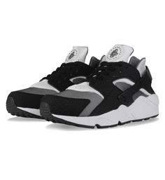 new arrival bea51 03ad2 Black   White   Dark Grey Black Huarache, Nike Air Huarache, Grey Nikes,
