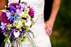 Fialová svatební kytice, které květiny poradíte? -...