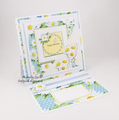 Handmade card made in serif / craft artist