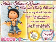 DEKORARTE EN FOAMY- AULA VIRTUAL BABY SEBASTIAN - MICROPOROSO - GOMA EVA - YouTube