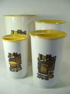 retro kitchen canister sets - Google Search