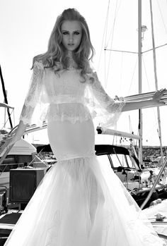 #Wedding dress - Galia Lahav bridal 2013 Collection St. Tropez Cruise 4