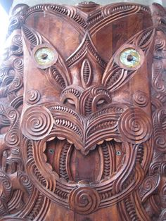 Maori carving Maori People, Maori Designs, New Zealand Art, Nz Art, Maori Art, Aboriginal Art, Tribal Art, Art World, Traditional Art
