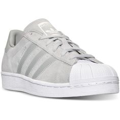 official photos 3749e 3d5fe adidas Womens Superstar Casual Sneakers from Finish Line (65) ❤ liked on  Polyvore featuring