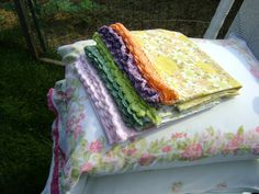 Vintage Pillowcases  Set of Two  Crochet Your Edging  by sheilalikestoknit, $8.00