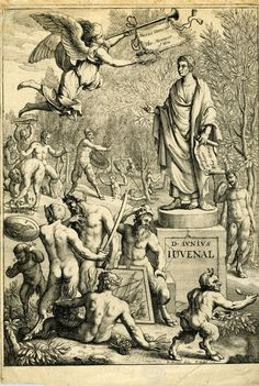 Decimus Junius Juvenalis (l. c. 55-138 CE), better known as Juvenal, was a Roman satirist. He wrote five books, containing 16 satires, each of which criticized a different element of Roman society, whether it was poor housing, the patron/client relationships, the presence of Greeks in the city, the raising of children, prayer, or the arrogance and vanity of the city's women. Ancient Rome, Ancient History, History Encyclopedia, Satire, Roman, Greeks, Raising, Prayer, Books