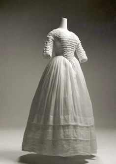 Dress (American) ca. 1841-44 cotton