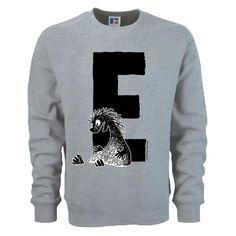 Moomin Alphabet sweatshirt  - E as in Edward The Booble