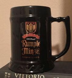 "RUMPLE MINZE German-Style Schnapps Liquor LARGE 6.25"" Tall Beer Stein / Mug.  | eBay"