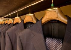 Read our new blog post and learn the different ways to protect your suits in the closet for long-term and short-term storage.