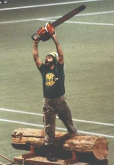 Old skool Timber Jim, of the Portland Timbers in the 1970s.