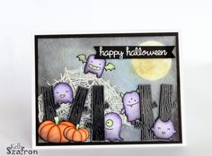 Lawn Fawn | Monster Mash; So Thankful | Halloween  Kelly's Papercrafting | Cute Spooks
