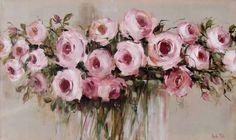 Billedresultat for nicole pletts paintings The Joy Of Painting, Painting Collage, Paintings I Love, Beautiful Paintings, Abstract Flowers, Watercolor Flowers, Watercolor Art, Flower Canvas, Flower Art