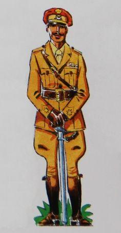 Regulares 1925 Comandante uniforme de diario