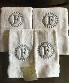Personalized Towels Hand Towel Bathroom Personalized Gift - Monogrammed bath towels for small bathroom ideas
