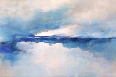 dipinto di paesaggio astratto arino di sergio aiello artista contemporaneo astratto