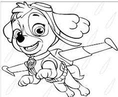 Paw Patrol 45 Coloring Page - Free Coloring Pages Online Cartoon Coloring Pages, Coloring Pages For Kids, Coloring Books, Page Online, Color Games, Paw Patrol, Colored Pencils, Activities For Kids, Cool Pictures