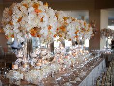 54 Best Ideas For Wedding Centerpieces Tall Rustic Sophisticated Bride Cute Wedding Ideas, Trendy Wedding, Floral Wedding, Wedding Flowers, Wedding Inspiration, Luxury Wedding, Wedding Dress, Reception Decorations, Event Decor