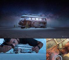 O incrível processo fotográfico de Felix Hernandez - O fotógrafo Felix Hernandez utiliza miniaturas trabalhadas nos mínimos detalhes, criando um efeito incrível em suas fotografias. Inspire-se com seus trabalhos!