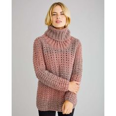 Free knitting pattern for a textured chunky jumper with ribbed cowl neck using Rowan Brushed Fleece. See our great prices and fast service. Knitting Patterns Free, Free Knitting, Knitting Ideas, Crochet Patterns, Free Pattern, Rowan, Pullover Designs, Knit Or Crochet, Free Crochet