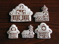 House Cake, Advent, Gingerbread, Ornament, Cookies, Holiday Decor, Christmas, Essen, Crack Crackers