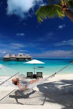 Hilton Bora Bora  - Explore the World with Travel Nerd Nici, one Country at a Time. http://TravelNerdNici.com