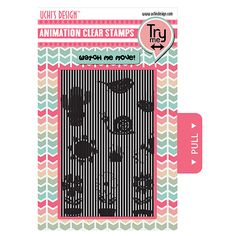 Happy Birthday NEW Uchi/'s Design™ Motion Crafts Animation Clear Stamps