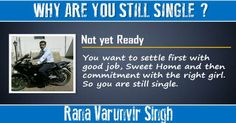 Check my results of Why are you still Single? Facebook Fun App by clicking Visit Site button