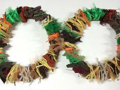 DIY Fall Wreath… DIY Tuesday… come see…easy and fun! http://ashleysartcloset.blogspot.com/2014/11/diy-fall-wreath.html